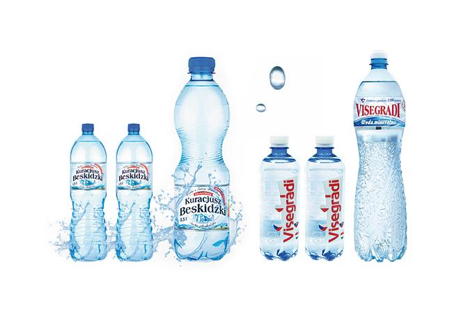 Woda butelkowa PET gazowana niegazowana