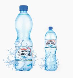 Produkty dodatkowe woda PET Kuracjusz Beskidzki
