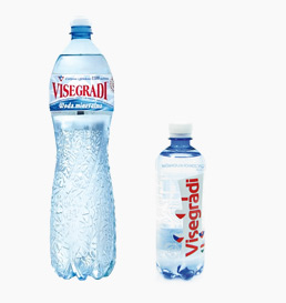 Produkty dodatkowe woda PET Visegradi