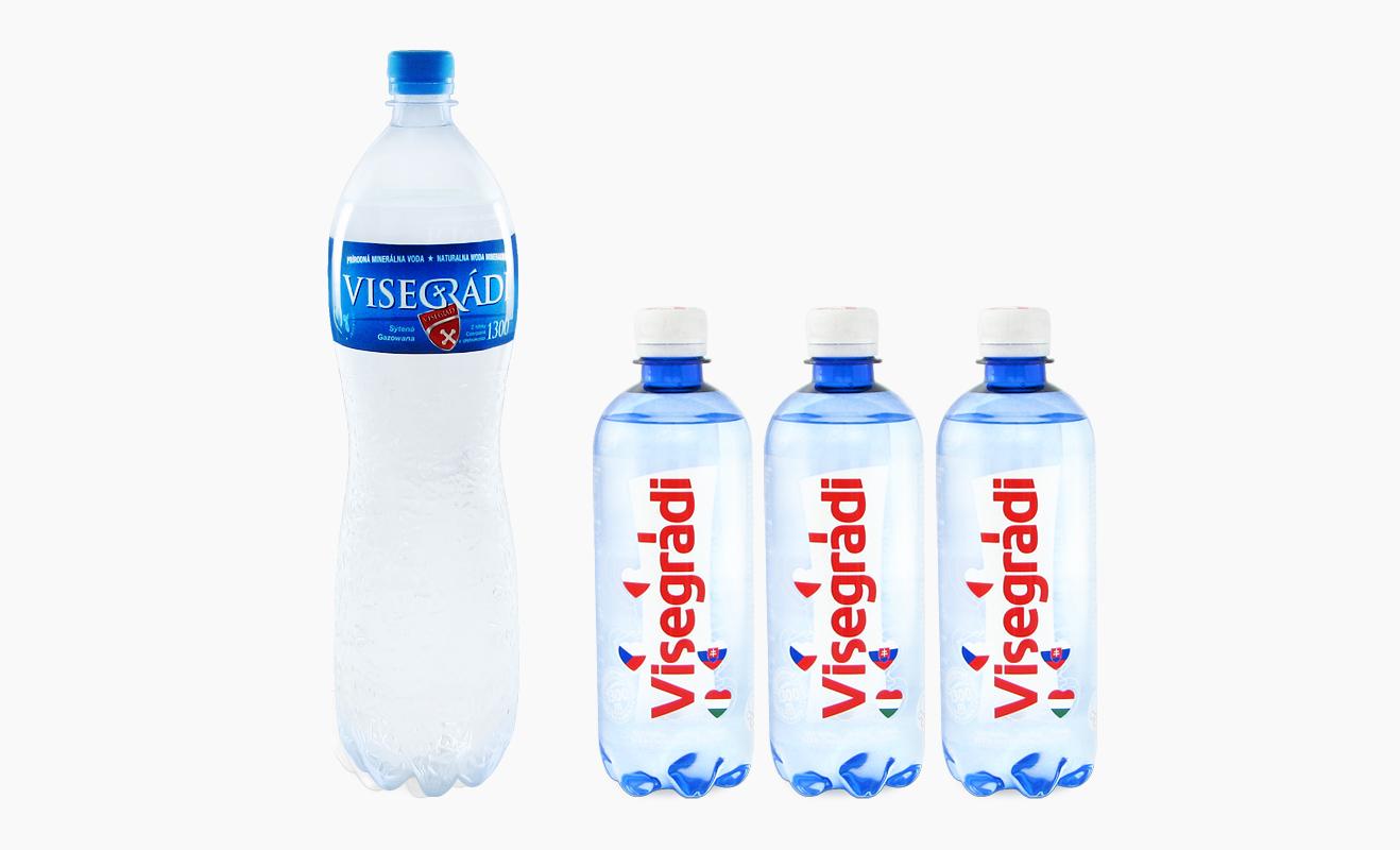 Woda mineralna w opakowaniach PET Visegradi dostępna w sklepie WŻ